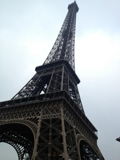 My own photo from Eiffel Tower