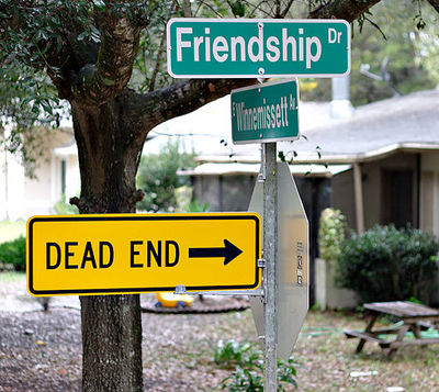 Street Signs Friendship