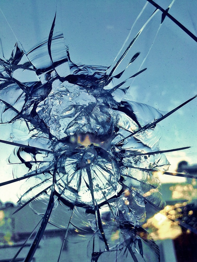 Broken glass  - Quotes About Breaking Up