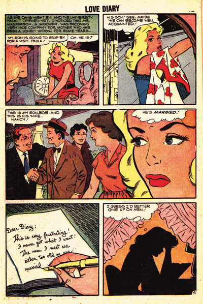 Comicbook Love Story,Reading,Diary
