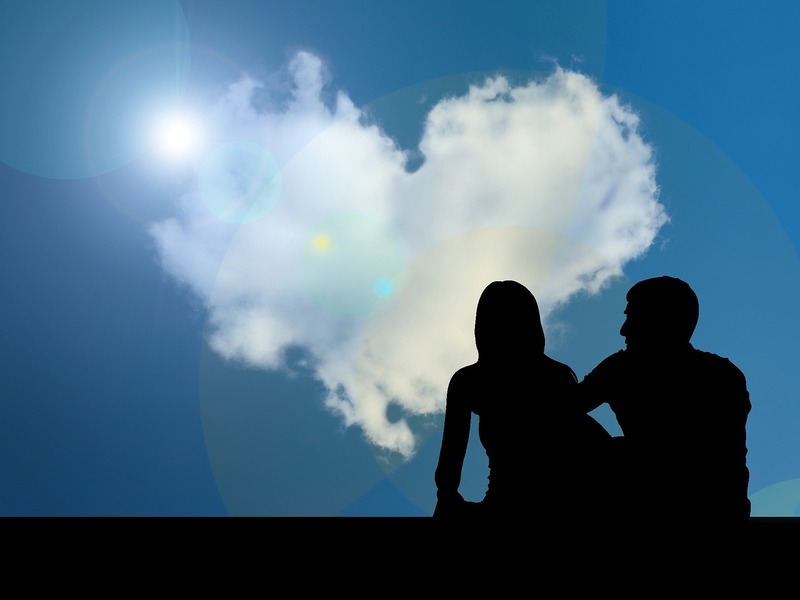 heart shaped  cloud  - Quotes Relating To Valentine's Day
