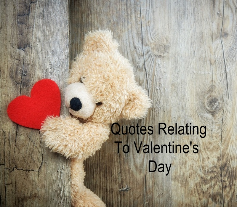 Quotes relating to Valentine's Day