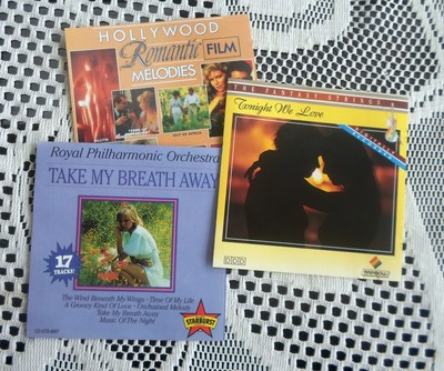 Three Romantic CDs